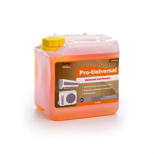 PRO-UNIVERSAL  FOODSAFE INDOOR AND OUTDOOR COIL CLEANER. 5LTR