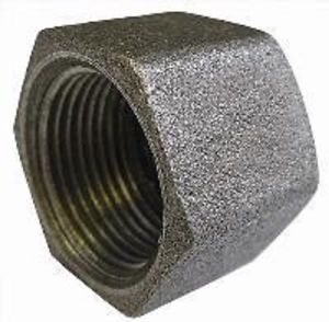 """1/4"""" MALLEABLE IRON CAP END"""