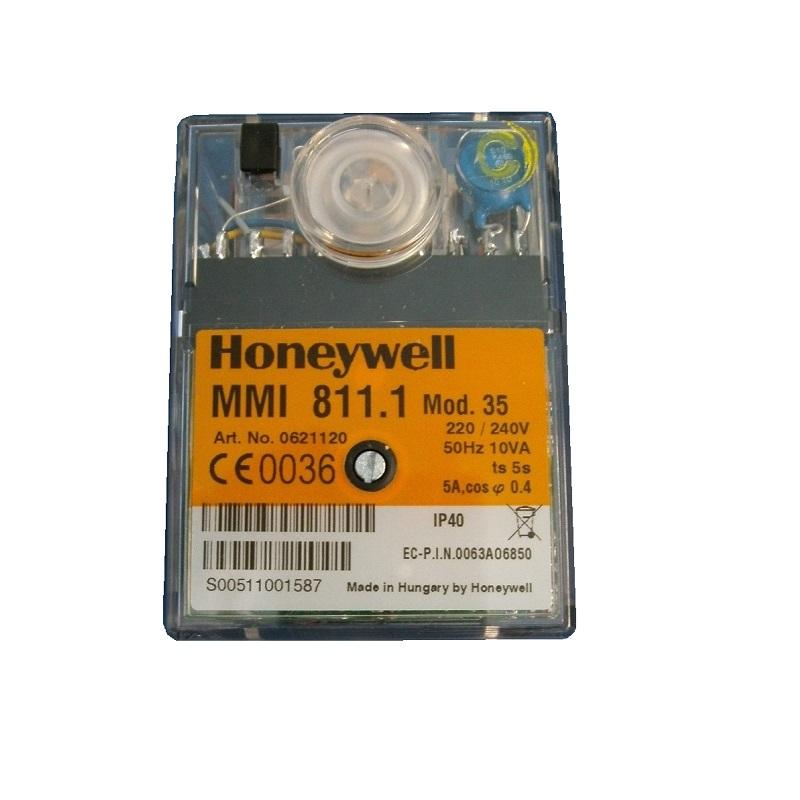 HONEYWELL/SATRONIC CONTROL BOX MMI811-1 MOD 35/240V 0621120U