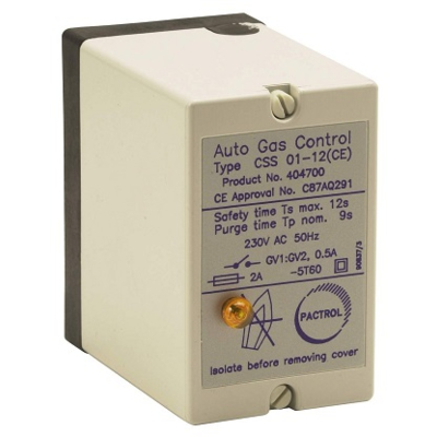 PACTROL CSS 01-24R CONTROL BOX