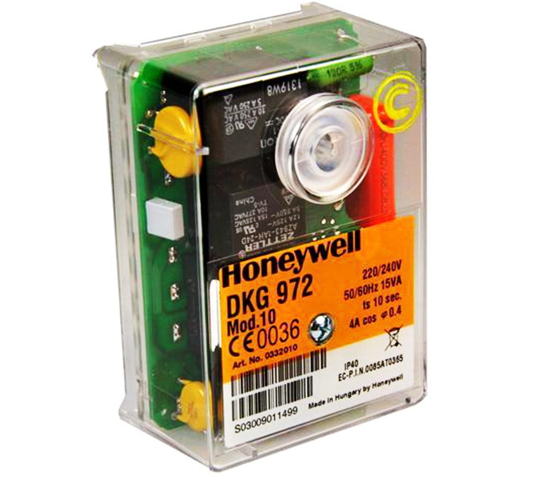 HONEYWELL/SATRONIC GAS CONTROL BOX  DKG972-N MOD 10 /240V