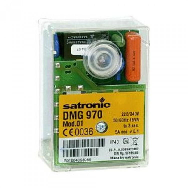 HONEYWELL/SATRONIC GAS  CONTROL BOX  DMG 970 MOD.01 240V 0452001U