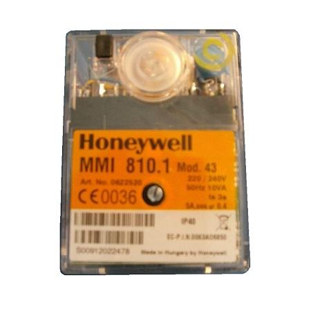 HONEYWELL/SATRONIC CONTROL BOX  MMI 810.1 MOD 43 /240V 0622520U
